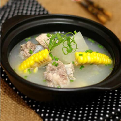 营养的椰子玉米排骨汤