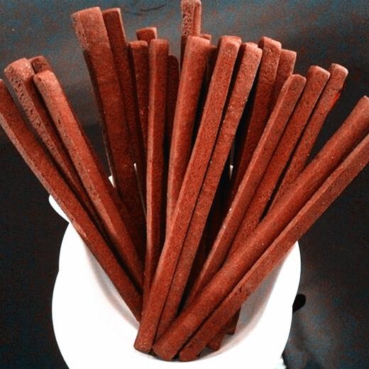 美味的巧克力磨牙棒