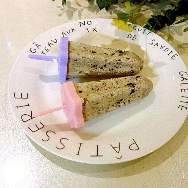 自制蜜豆牛奶雪糕