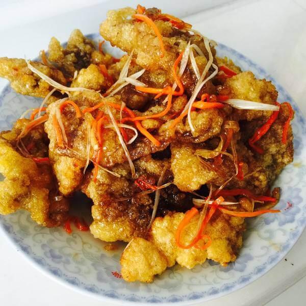 好吃的梅子酱锅包肉