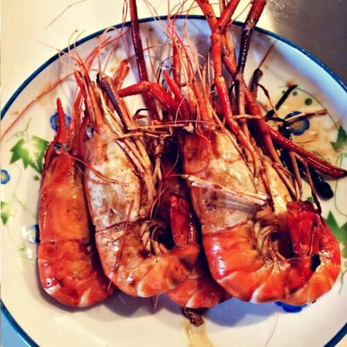 家常版美極焗羅氏蝦