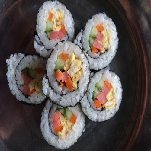 爽口的简易版寿司