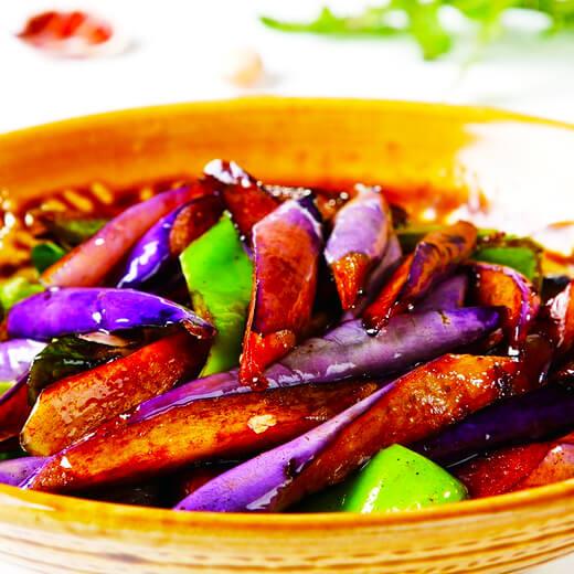 开胃下饭肉末虾干茄子