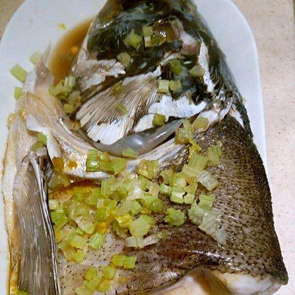 营养清蒸野生鱼头