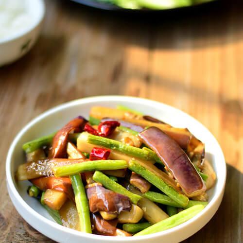 美味的生炒豇豆