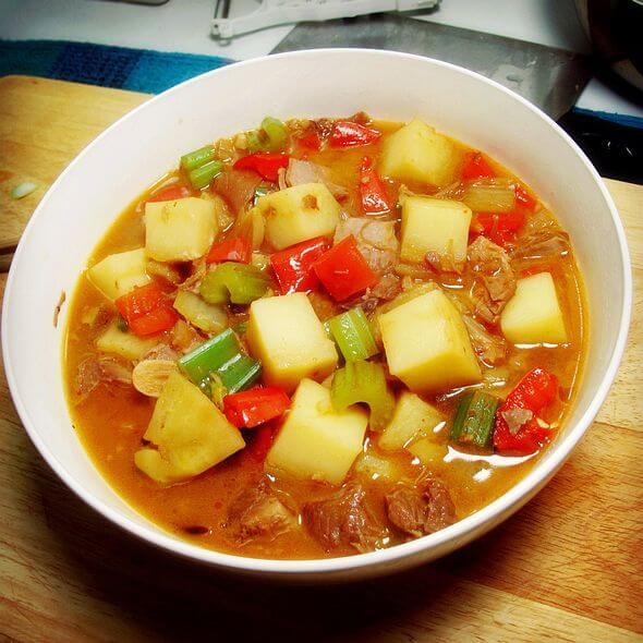 美味雞蛋炒西紅柿土豆