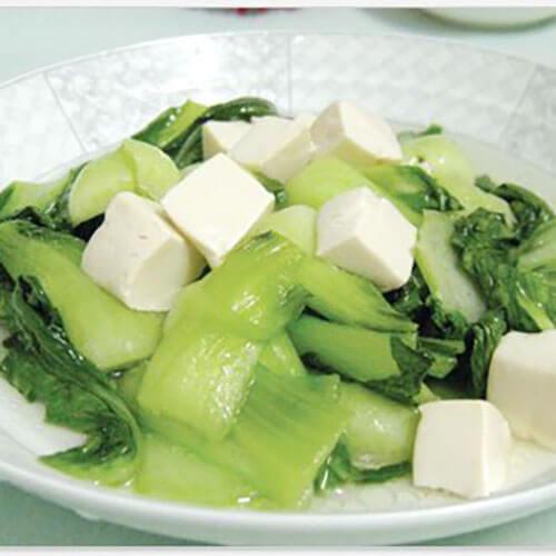 健康鸡蛋豆腐青菜卤