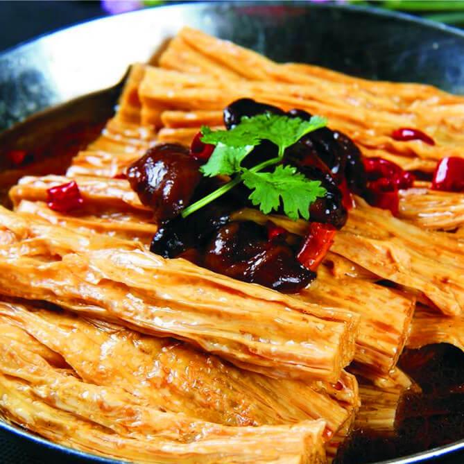 好吃的干锅腐竹