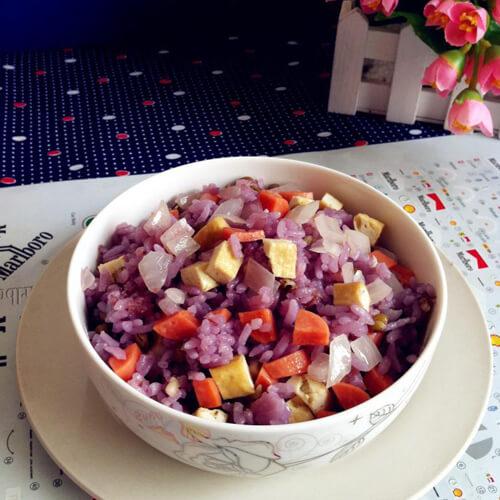 养生双谷紫米饭