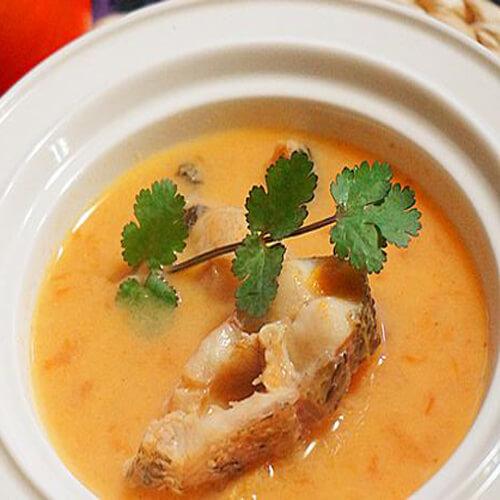 美味的木耳节瓜黑鱼汤