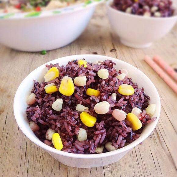 美味双谷紫米饭