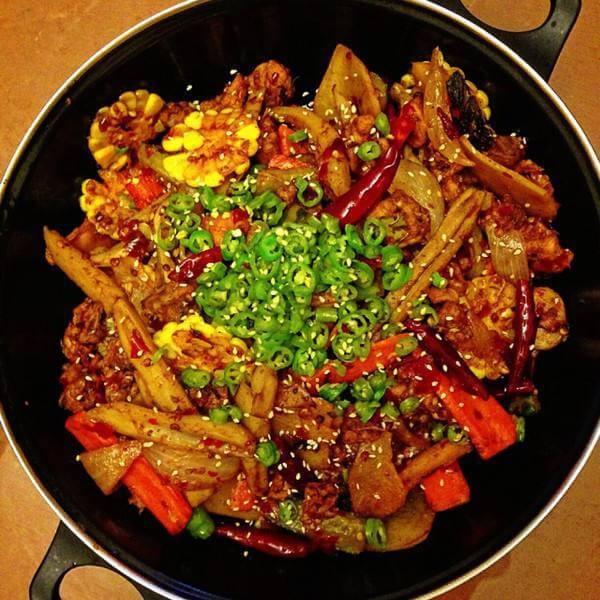 香辣的麻辣香鍋菜