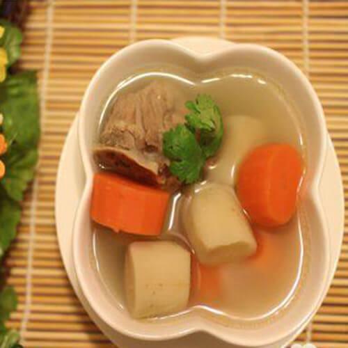 好喝的牛蒡红萝卜排骨汤