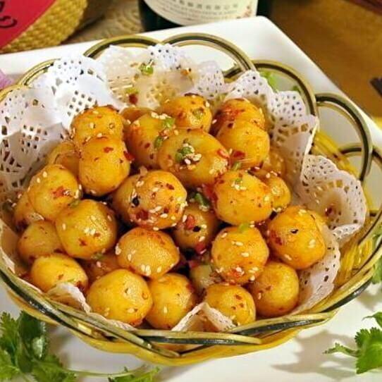美味的高山炕洋芋