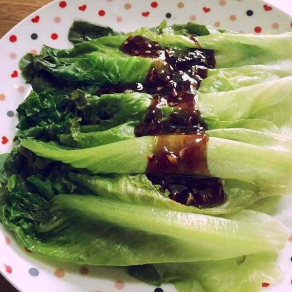 好吃的蠔油小生菜