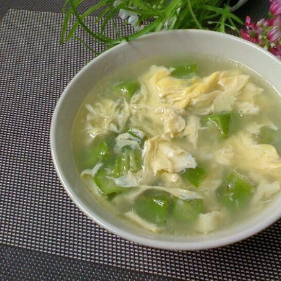 好喝的素秋葵汤