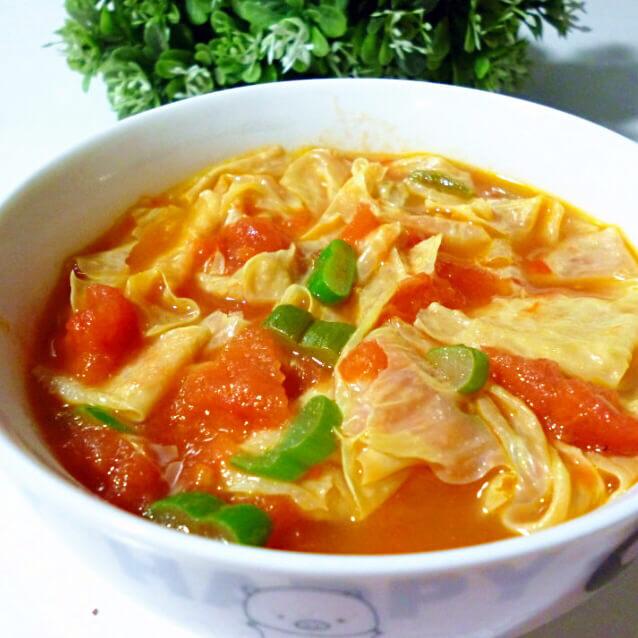 「DIY美食」西红柿炖豆皮