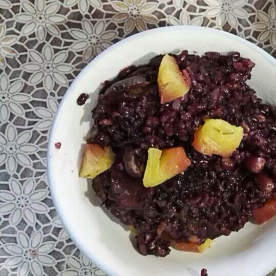 营养双谷紫米饭