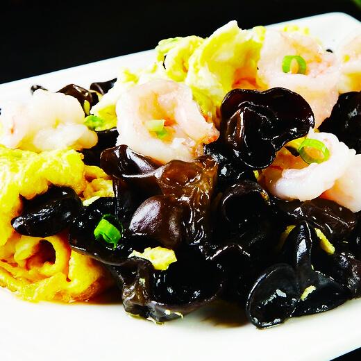 香噴噴的青菜炒蝦皮