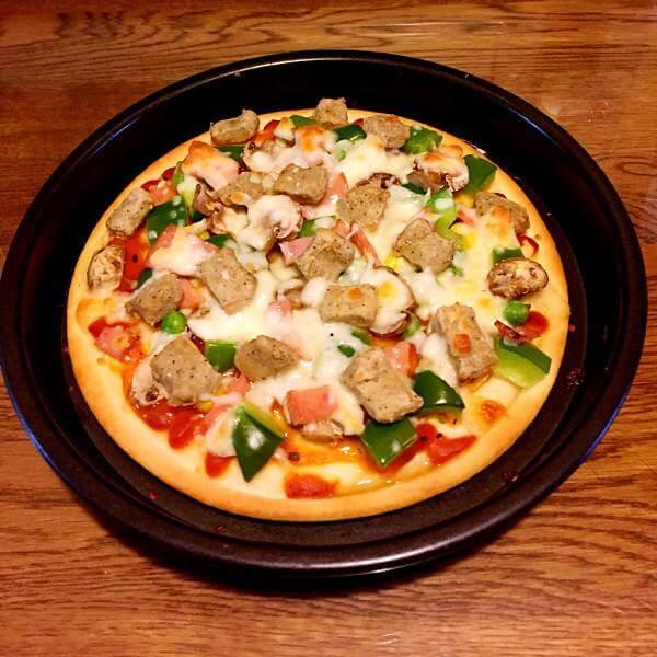好吃芝心培根披萨
