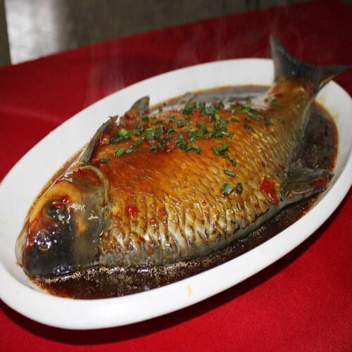 我的毛豆子烧鳊鱼