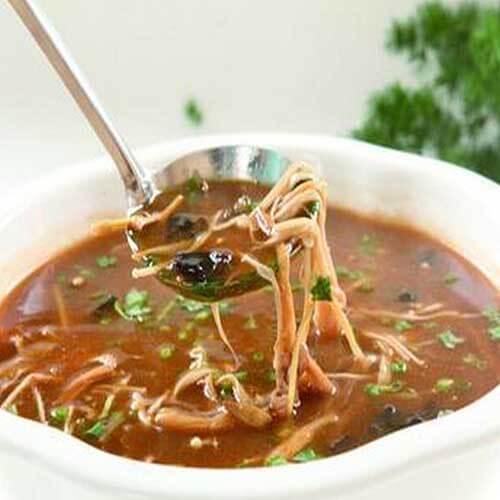 美味的酸辣肚丝汤的做法