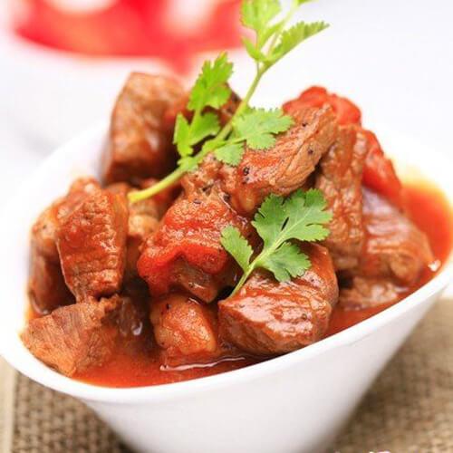 美味的西红柿炖牛肉的做法