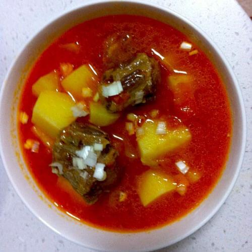 酸甜蕃茄牛尾汤