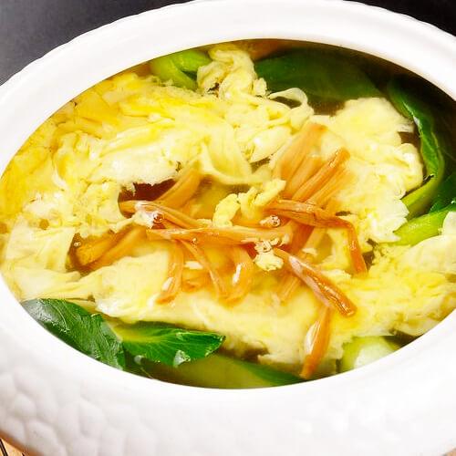 美味的黄花菜鸡蛋汤的做法