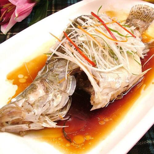 清蒸的桂花鱼