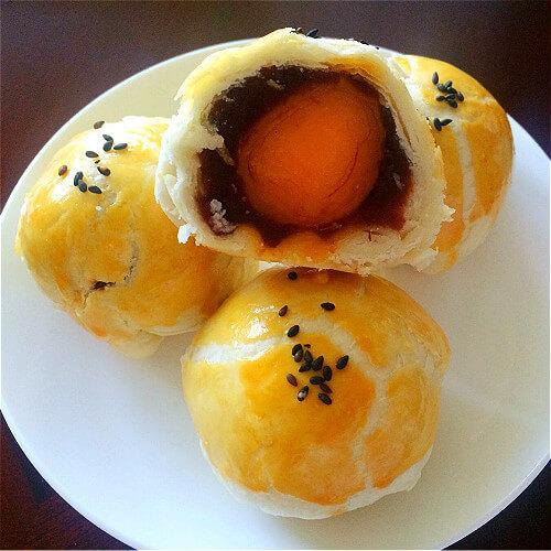 好吃的经典蛋黃酥