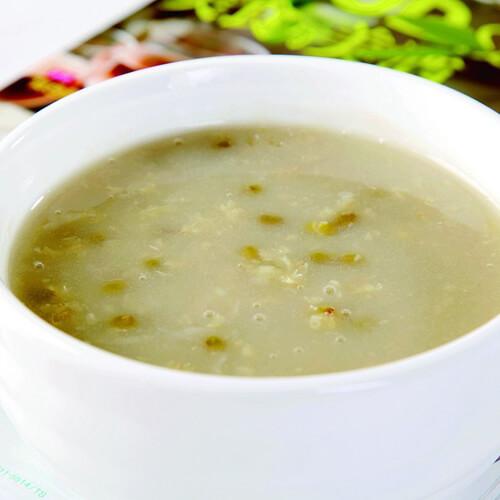 营养绿豆粥