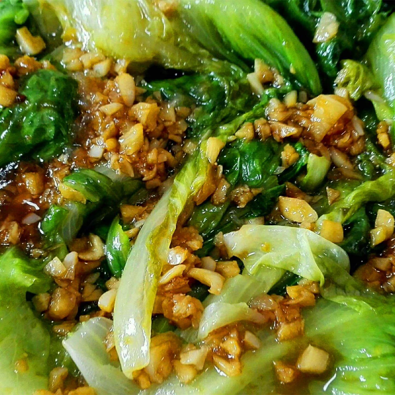 好吃的蠔油生菜的做法