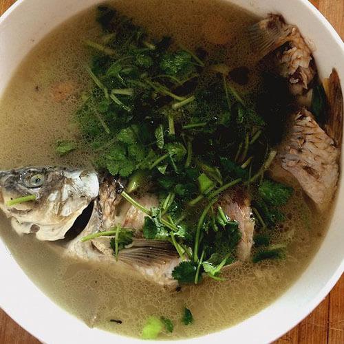 美味鲤鱼汤