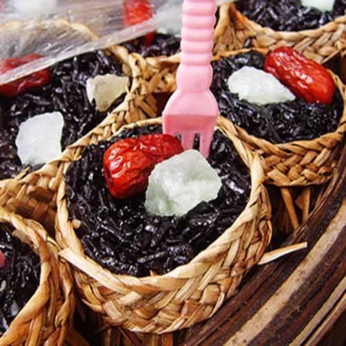 甜甜蒸紫米