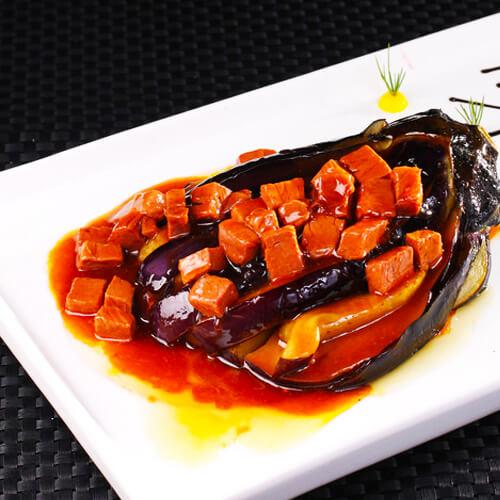 家常牛肉烧茄子的做法