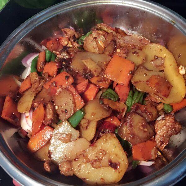美味的麻辣香鍋的家常做法