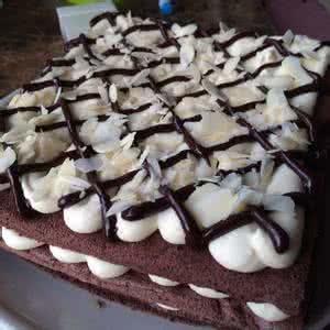 杏仁巧克力蛋糕