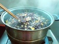 营养双谷紫米饭的做法图解七