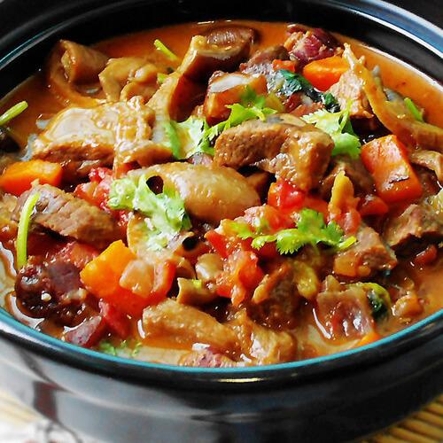 美味的萝卜炖牛肉的做法