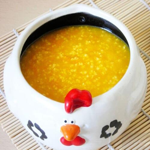 美味的南瓜小米粥的做法