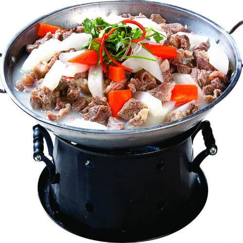 可口的羊肉锅仔