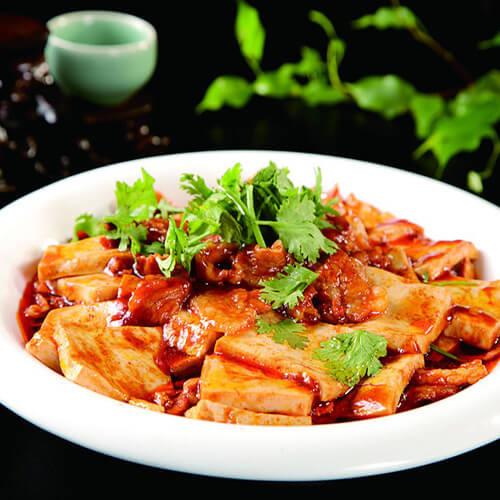 美味的 猪肉炖豆腐的做法