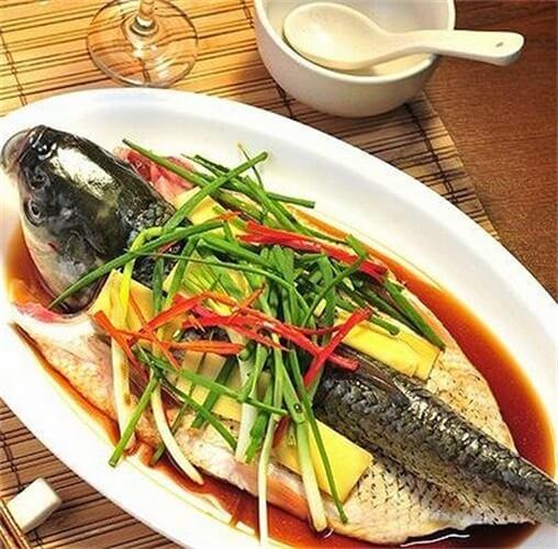 美味的清蒸草鱼的做法