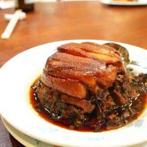 飘香梅菜扣肉的家常做法