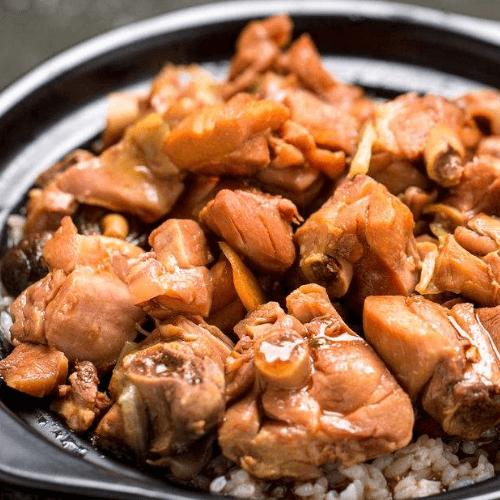李记黄焖鸡米饭图1