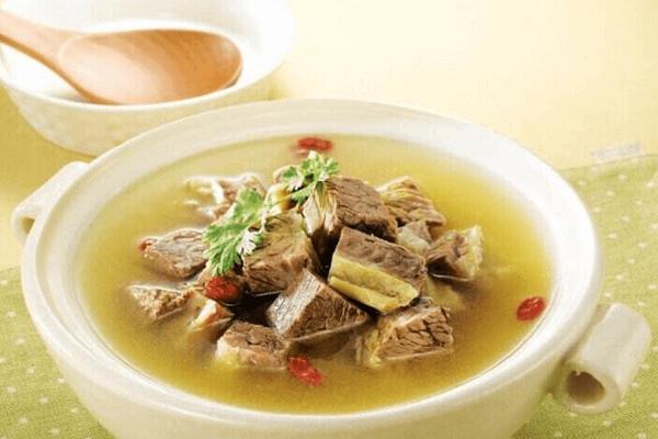 开一家火一家的徽兰庭牛肉汤