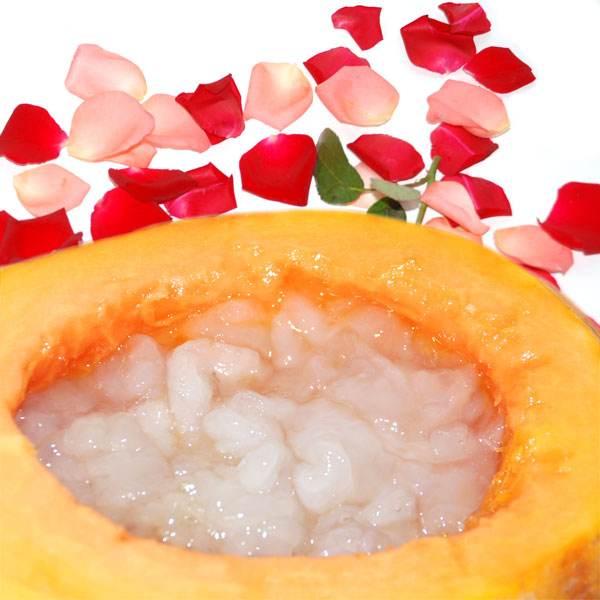 鲜美雪蛤炖木瓜
