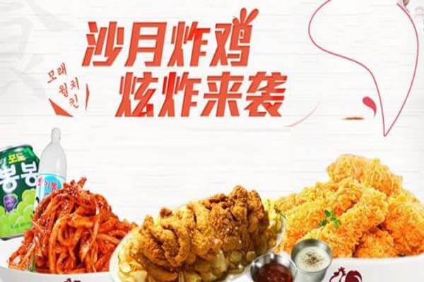 沙月韩式炸鸡小吃品牌介绍图3