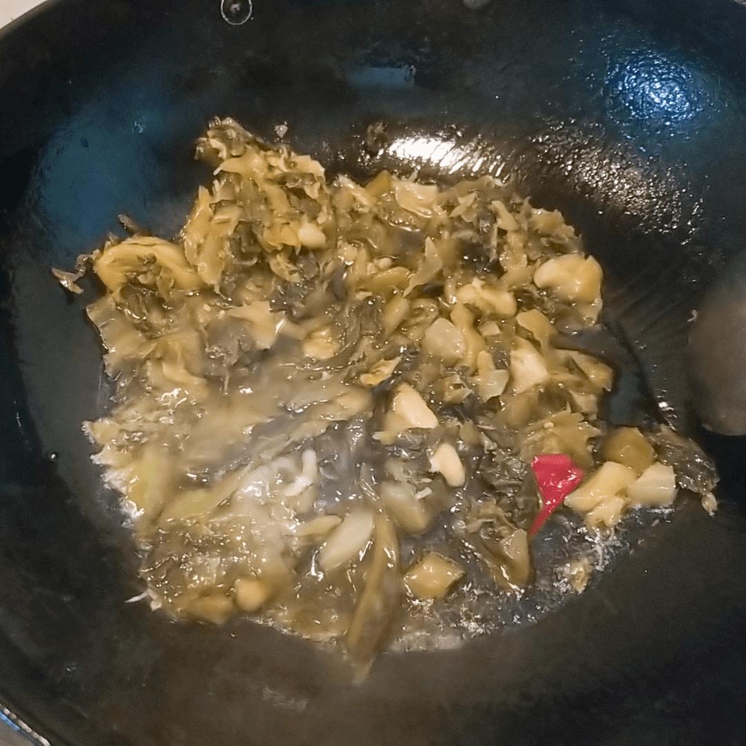 豆腐酸菜鱼的做法图解五